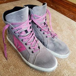 Dainese Street Biker Ladies Air Shoes Gray Sz 40